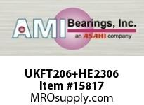 AMI UKFT206+HE2306 1 NORMAL WIDE ADAPTER 2-BOLT FLANGE