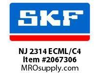 SKF-Bearing NJ 2314 ECML/C4