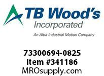 TBWOODS 73300694-0825 73300694-0825 8S T-SF CPLG