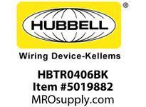 HBL_WDK HBTR0406BK WBPREFORM RADI 90 4^Hx6^W BLACK