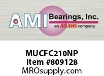 AMI MUCFC210NP 50MM STAINLESS SET SCREW NICKEL PIL SINGLE ROW BALL BEARING