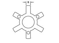 L035 SPIDER SOX (75-85 DURO)