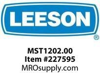 MST1202.00 2HP 3450RPM 56 DP 230V 1PH 60HZ CONTINUOUS AUTOMATIC 50C 1.15SF PUMP PUMP-THREADED SHAFT A6P34DZ5A