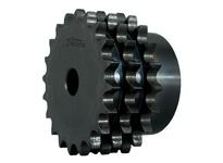 E16C95 C-Hub Metric Triple Roller Chain Sprocket