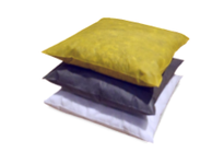 MBT OSP1818-10 Oil-Only pillows absorb hydrocarbon-based fluids and repel water. These absorbent pillows are typically used to catch leaks under equipment or horizontal drums but they can also be used to :