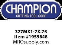 Champion 327MX1-7X.75 CARBON METRIC ROUND DIE STK ADJ