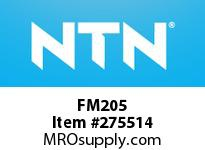 NTN FM205 STAINLESS HOUSINGS