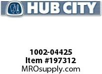 HUBCITY 1002-04425 FB220NX2 FLANGE BLOCK BEARING