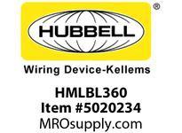 HBL_WDK HMLBL360 LENSSENSORF L BAY360 DEGWATERTIGHT
