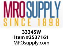 MRO 33345W 3/4 BARB X 1/2 FIP NYLON ELL