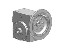 HubCity 0270-08002 SSW185 50/1 B WR 143TC .875 SS Worm Gear Drive