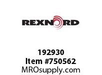 REXNORD 192930 593316 500.S71-8.CPLG STR SD