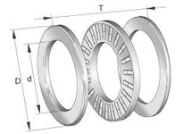 INA 89316TN Thrust roller bearing