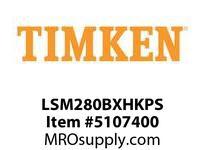 TIMKEN LSM280BXHKPS Split CRB Housed Unit Assembly