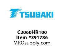 US Tsubaki C2060HR100 C2060H RIV 100FT REEL