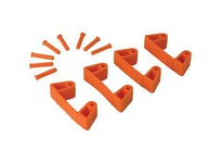 REMCO 10197 Vikan Wall Bracket Replacement Clips for Wall Bracket-