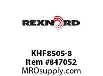 REXNORD KHF8505-8 KHF8505-8 KHF8505 8 INCH WIDE RUBBERTOP MATTO