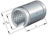 INA PABO50100PPAS Linear plain bearing