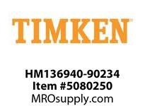 TIMKEN HM136940-90234 TRB 2-Row AP Assembly Class G