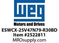 WEG ESWCX-25V47N79-R30BD XP FVNR 7.5HP/460 N79 460V Panels