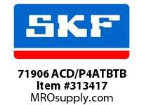 SKF-Bearing 71906 ACD/P4ATBTB