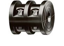 DODGE 009024 3 1/2 RIBBED COUPLING ASSEMBLY
