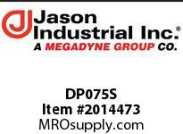 Jason DP075S 3/4DP SS DUST PLUG
