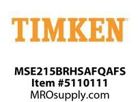 TIMKEN MSE215BRHSAFQAFS Split CRB Housed Unit Assembly
