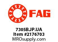 FAG 7305B.JP.UA SINGLE ROW ANGULAR CONTACT BALL BEA