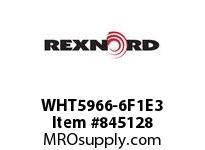 REXNORD WHT5966-6F1E3 WHT5966-6 F1 T3P WHT5966 6 INCH WIDE MATTOP CHAIN WI