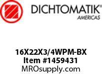 Dichtomatik 16X22X3/4WPM-BX DISCONTINUED