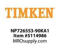 TIMKEN NP726553-90KA1 TRB Double Row Assembly 24-36 OD