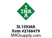 INA SL15926A Cylindrical roller bearing-full com