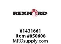 REXNORD 81431661 PS7956-6 NO TAB PS7956 6 INCH WIDE MATTOP CHAIN WIT