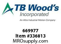 TBWOODS 669977 669977 10SX2 7/8 SF