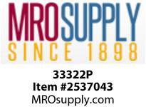 MRO 33322P 2 BARB X 1-1/2 MIP PP