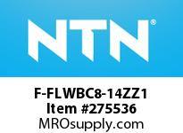NTN F-FLWBC8-14ZZ1 EXTRA SMALL BALL BRG