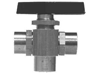 MRO 46959 3/8FX3/8FX3/8F 3WAY BALL VALVE