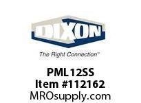 DIXON PML12SS 3/4 SS DUAL LOCK LOCKING SLEEVE