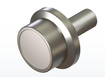 PCI FTR-3.50 FLANGED TRACK ROLLER STUD STYLE BEARING FLANGED 3.50 DIAMETER