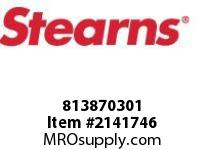 STEARNS 813870301 SPACERVERT MTG-.021 PLS 8036999