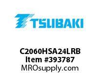 US Tsubaki C2060HSA24LRB C2060H RIV 4L/SA-2