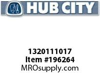 HUBCITY 1320111017 B220X1-7/16 BEARING INSERT