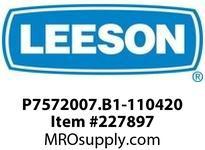 P7572007.B1-110420 GEARMOTOR 423IN-LBS 217RPM TENV