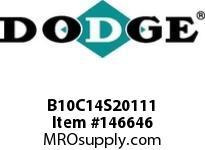 DODGE B10C14S20111 BB1083 140CC 201.11 2-3/8 S SHFT