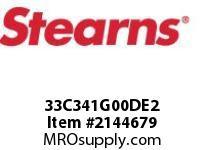 STEARNS 33C341G00DE2 BRAKE33C3 HSGQUIET REL 205506