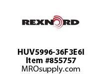 REXNORD HUV5996-36F3E6I HUV5996-36 F3 T6P N1.25 HUV5996 36 INCH WIDE MATTOP CHAIN W