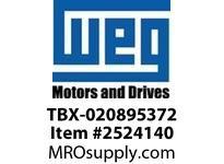 WEG TBX-020895372 444/5T TERMINAL BOX KIT PARTS