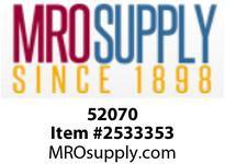 MRO 52070 1/2 X 6 SC80 316SS SEAMLESS