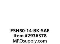 TBWOODS FSH50-14-BK-SAE 8 BOLT COUPLING B & K